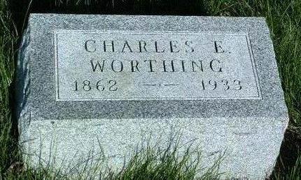 WORTHING, CHARLES EDWARD - Madison County, Iowa | CHARLES EDWARD WORTHING