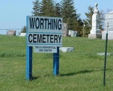 WORTHING, CEMETERY - Madison County, Iowa | CEMETERY WORTHING