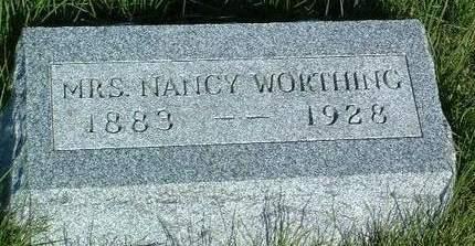 WORTHING, NANCY T. - Madison County, Iowa   NANCY T. WORTHING
