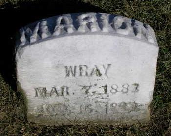 WRAY, MARION - Madison County, Iowa | MARION WRAY