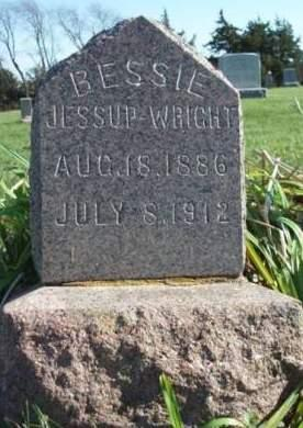 WRIGHT, BESSIE - Madison County, Iowa   BESSIE WRIGHT