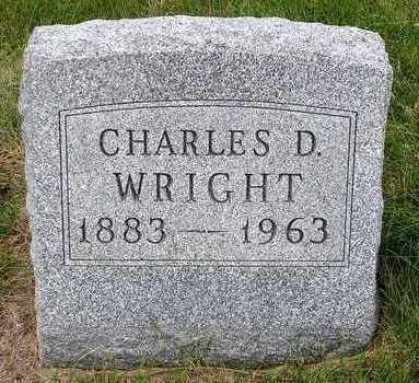 WRIGHT, CHARLES D. - Madison County, Iowa | CHARLES D. WRIGHT