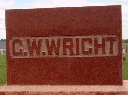 WRIGHT, GEORGE WILLIAM - Madison County, Iowa | GEORGE WILLIAM WRIGHT