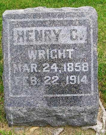 WRIGHT, HENRY C. - Madison County, Iowa | HENRY C. WRIGHT
