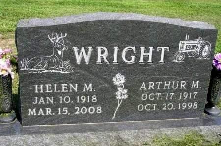 WRIGHT, ARTHUR MELVIN - Madison County, Iowa   ARTHUR MELVIN WRIGHT