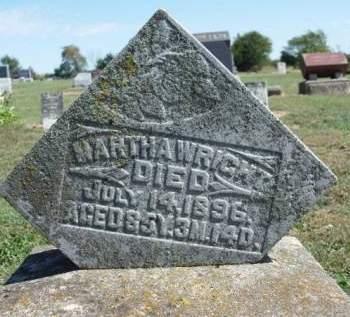 WRIGHT, MARTHA ANN - Madison County, Iowa   MARTHA ANN WRIGHT