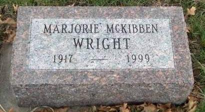 WRIGHT, MARJORIE GALE - Madison County, Iowa | MARJORIE GALE WRIGHT