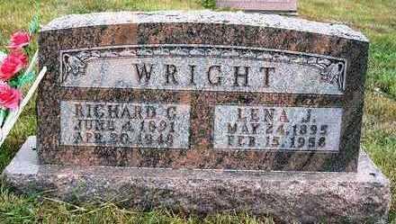 WRIGHT, RICHARD CLAYTON - Madison County, Iowa | RICHARD CLAYTON WRIGHT