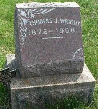 WRIGHT, THOMAS J. - Madison County, Iowa | THOMAS J. WRIGHT