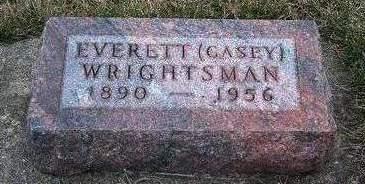 WRIGHTSMAN, EVERETT WILLIAM (CASEY) - Madison County, Iowa | EVERETT WILLIAM (CASEY) WRIGHTSMAN