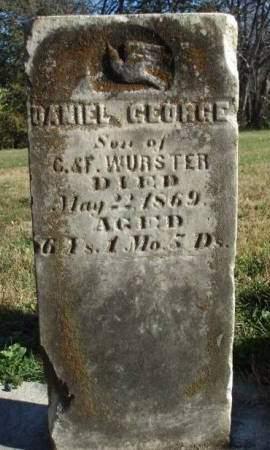 WURSTER, DANIEL GEORGE - Madison County, Iowa | DANIEL GEORGE WURSTER