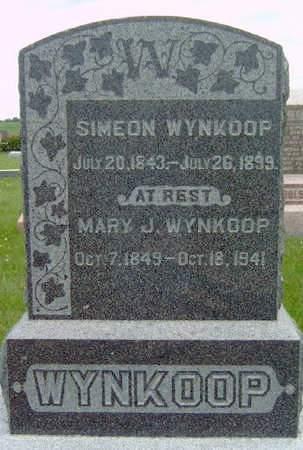 WYNKOOP, MARY JOSEPHINE - Madison County, Iowa   MARY JOSEPHINE WYNKOOP
