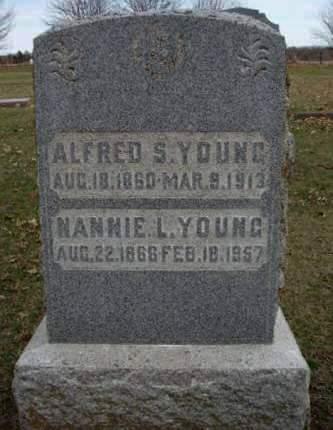 YOUNG, NANNIE LUCINDA - Madison County, Iowa | NANNIE LUCINDA YOUNG