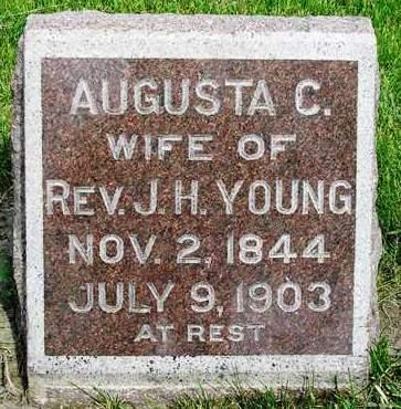 YOUNG, AUGUSTA C. - Madison County, Iowa   AUGUSTA C. YOUNG