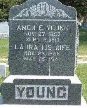 YOUNG, AMON E. - Madison County, Iowa | AMON E. YOUNG