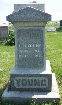 YOUNG, CHARLES HUNTER - Madison County, Iowa   CHARLES HUNTER YOUNG