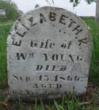 YOUNG, ELIZABETH KEZIA - Madison County, Iowa | ELIZABETH KEZIA YOUNG