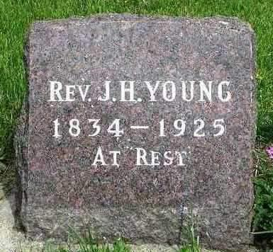 YOUNG, JAMES H., REV. - Madison County, Iowa | JAMES H., REV. YOUNG