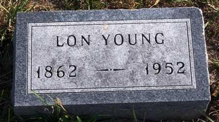 YOUNG, LEONIDAS ROSENCRANS (LON) - Madison County, Iowa | LEONIDAS ROSENCRANS (LON) YOUNG