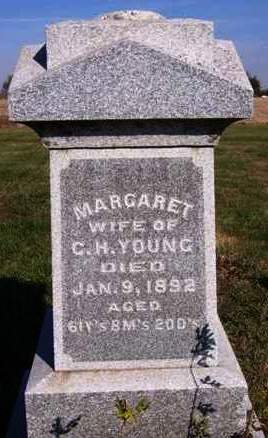 YOUNG, MARGARET - Madison County, Iowa   MARGARET YOUNG