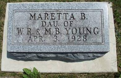 YOUNG, MARETTA B. - Madison County, Iowa | MARETTA B. YOUNG