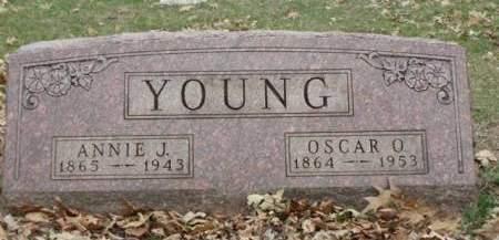 YOUNG, ANNA JENNIE - Madison County, Iowa | ANNA JENNIE YOUNG