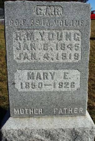 YOUNG, MARY ELIZABETH - Madison County, Iowa | MARY ELIZABETH YOUNG