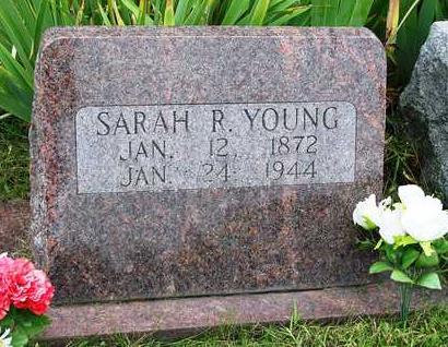 YOUNG, SARAH ROSE - Madison County, Iowa   SARAH ROSE YOUNG
