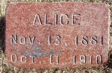 YOUNGS, ALICE