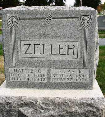 ZELLER, ELIAS REYNOLDS - Madison County, Iowa   ELIAS REYNOLDS ZELLER