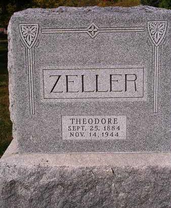 ZELLER, THEODORE C. - Madison County, Iowa   THEODORE C. ZELLER
