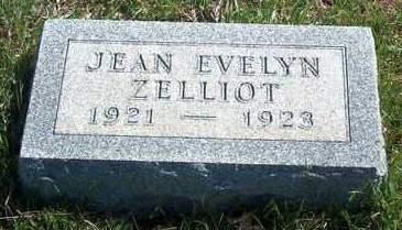 ZELLIOT, JEAN EVELYN - Madison County, Iowa   JEAN EVELYN ZELLIOT