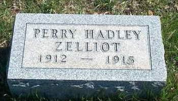 ZELLIOT, PERRY HADLEY - Madison County, Iowa   PERRY HADLEY ZELLIOT
