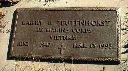ZEUTENHORST, LARRY B. - Madison County, Iowa   LARRY B. ZEUTENHORST
