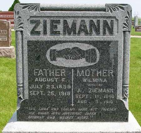 ZIEMANN, WILMINA - Madison County, Iowa | WILMINA ZIEMANN