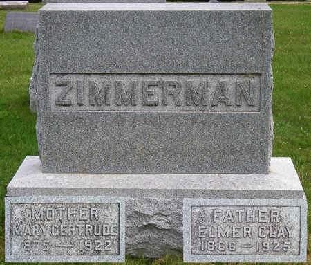 ZIMMERMAN, ELMER CLAY - Madison County, Iowa | ELMER CLAY ZIMMERMAN