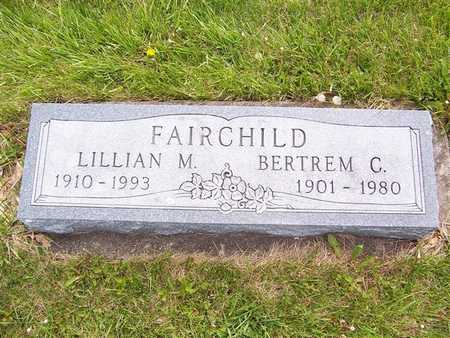 FAIRCHILD, LILLIAN M. - Mahaska County, Iowa | LILLIAN M. FAIRCHILD