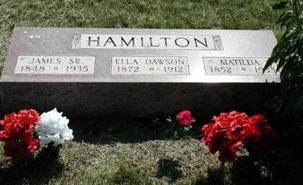 HAMILTON, JAMES - Mahaska County, Iowa | JAMES HAMILTON