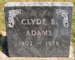 ADAMS, CLYDE E. - Mahaska County, Iowa | CLYDE E. ADAMS
