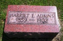 ADKINS, HARRIET E. - Mahaska County, Iowa | HARRIET E. ADKINS