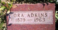 ADKINS, ORA - Mahaska County, Iowa | ORA ADKINS