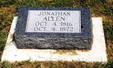 ALLEN, JONATHAN - Mahaska County, Iowa | JONATHAN ALLEN