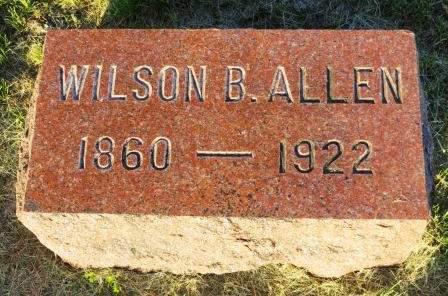 ALLEN, WILSON B. - Mahaska County, Iowa | WILSON B. ALLEN