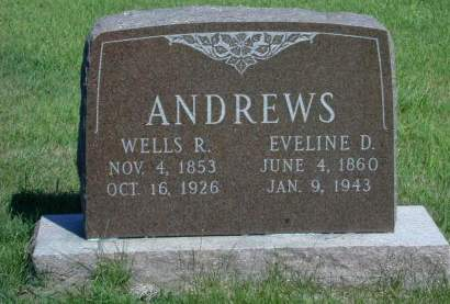 ANDREWS, WELLS R. - Mahaska County, Iowa | WELLS R. ANDREWS