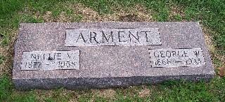 FLEENER ARMENT, NELLIE V. - Mahaska County, Iowa | NELLIE V. FLEENER ARMENT