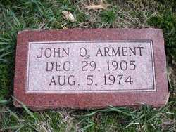 ARMENT, JOHN O. - Mahaska County, Iowa | JOHN O. ARMENT