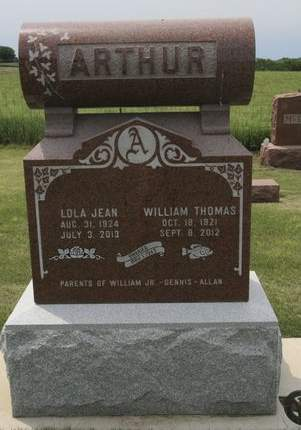 ARTHUR, WILLIAM THOMAS - Mahaska County, Iowa | WILLIAM THOMAS ARTHUR