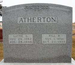 ATHERTON, WILL H. - Mahaska County, Iowa | WILL H. ATHERTON