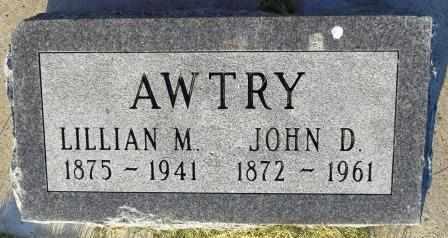 AWTRY, LILLIAN M. - Mahaska County, Iowa | LILLIAN M. AWTRY