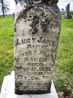 BAKER, LUCY JANE - Mahaska County, Iowa | LUCY JANE BAKER